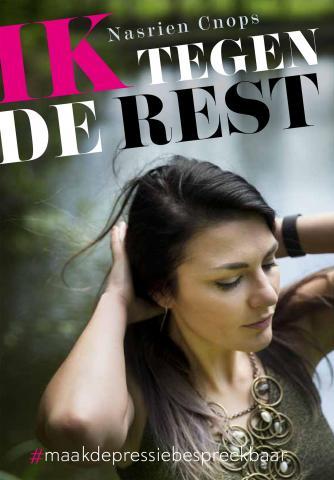 Cover boek 'Ik tegen de rest' van Nasrien Cnops