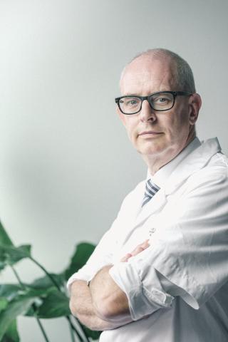 Prof. dr. Bart Morlion, pijnarts in het UZ Leuven