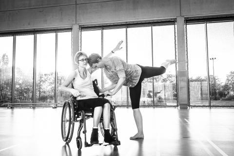 Danseres Els Vermanderen heeft multiple sclerose