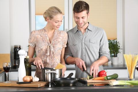 Samen gezond koken