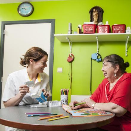Hulp aanvaarden van een thuisverpleegkundige