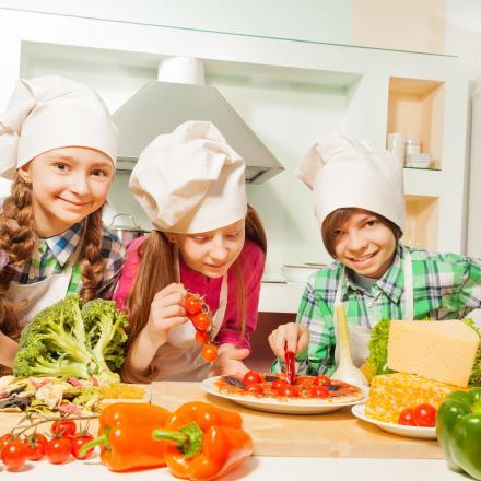 Kinderen gezond en lekker eten