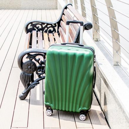 Koffer om mee te reizen