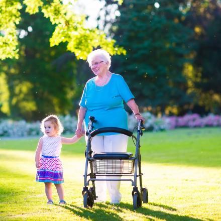 Wandelen, gezond, mobiliteitshulpmiddelen