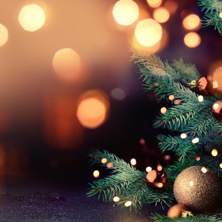 versierde kerstboom